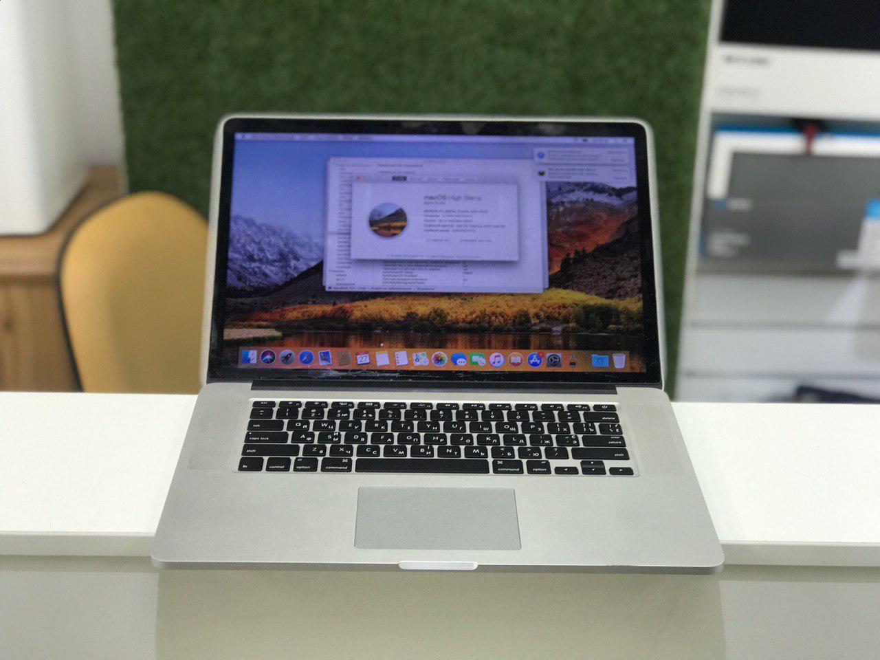 "Б/У Apple Macbook Pro 15 Early 2013 15,6"" i7 | 16 Ram | 500 SSD  Новая Батарея"