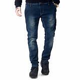 Мужские джинсы Franco Benussi FB 14-313 Paris синие, фото 6