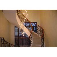 Перила лестницы кованые
