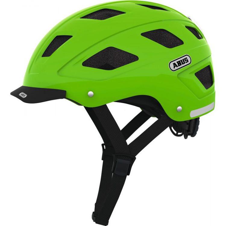 Шолом велосипедний ABUS HYBAN M-L Green