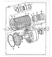 Сцепление, коробка передач, трансмисия  PS760 Ф3-3-1