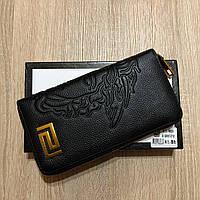 Кошелек Versace Черный ЛЮКС