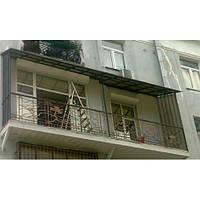 Перила для балкона кованые