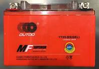 Аккамулятор  YTX9A-BS(GEL)  12V 9Ah/10HR  оранжевый  106x86x150 OUTDO