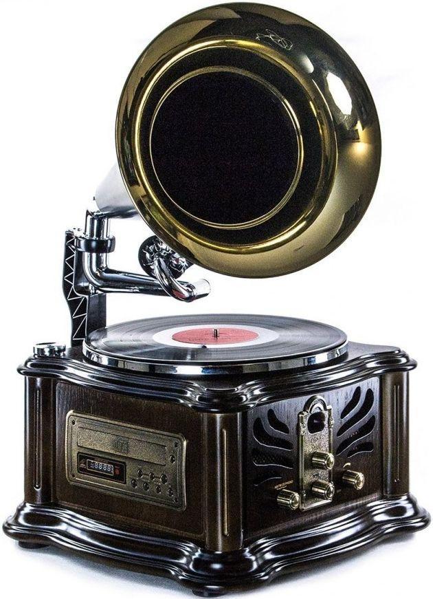 Ретро граммофон Daklin Лондон RP-013B, с поддержкой MP3 и WMA