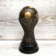 Статуэтка наградная Футбольный мяч (20 см)