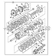 Сцепление, коробка передач, трансмисия PS760 F3-4-1, фото 1