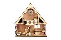 """Ляльковий будинок з балконо """"COUNTRY HOUSE"""" 47*51*38 см"""