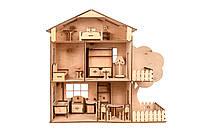 """Ляльковий будинок з мансардою """"TREE HOUSE"""""""