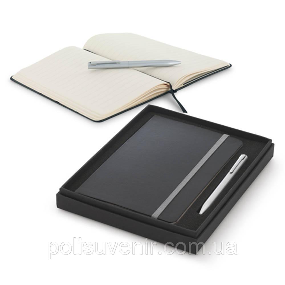 Подарунковий набір записна книжка А5 і ручка