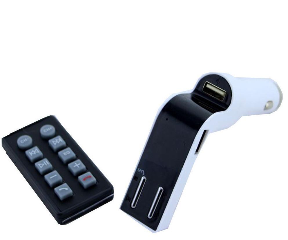 Трансмиттер FM модулятор CM 590 Bluetooth (СКЛАД-1шт)