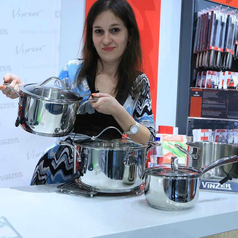 Набор посуды Vinzer Chef (7 пр.) 89028