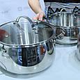 Набор посуды Vinzer Chef (7 пр.) 89028, фото 5