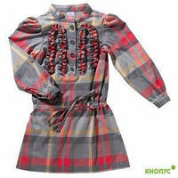"Платье-туника для девочки, ""Классики"", New Point, размер 116, 122"
