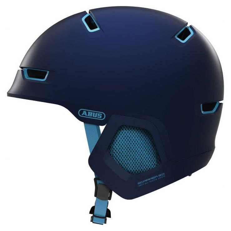 Шолом велосипедний ABUS SCRAPER 3.0 ERA M Ultra Blue, фото 2