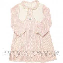"""Велюровое платье для девочки """"Машенька"""" , Smil, размеры 92-110"""