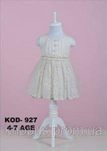 Нарядное платье для маленькой девочки, Mantar Bebe, Турция, размеры 104-110