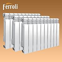 Радиаторы (батареи) алюминиевые Ferroli Infiniti 500х100мм