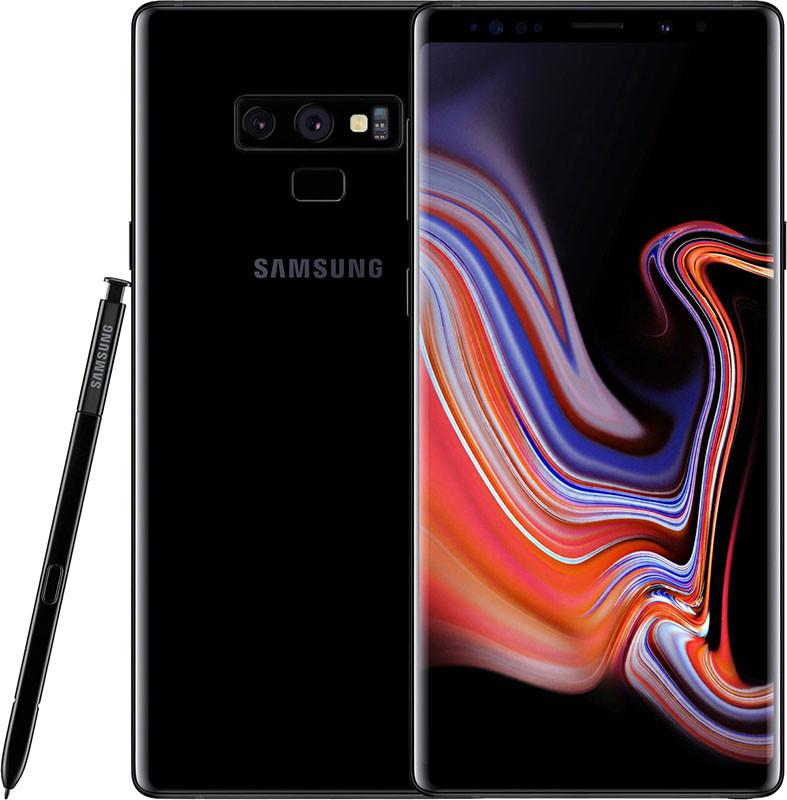 Смартфон Samsung Galaxy Note 9 N960 6/128GB Midnight Black (SM-N960FZKD)