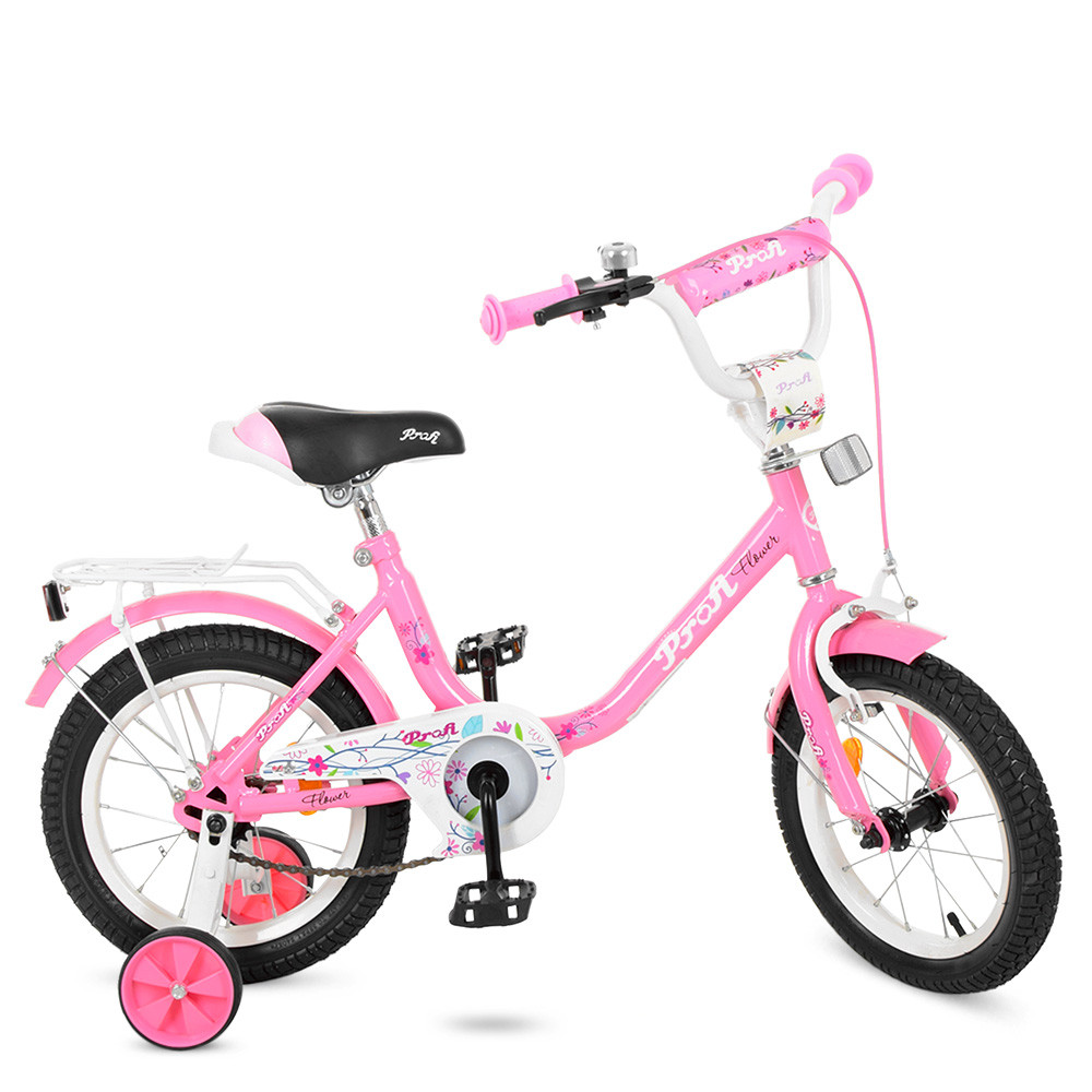 Велосипед детский PROF1 14д. Y1481 Розовый