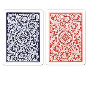 Пластикові гральні карти | Copag Jumbo (Blue Red), фото 2