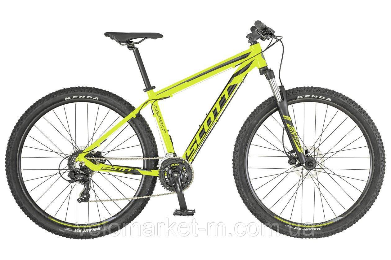 Велосипед Scott Aspect 960 жовтий 2019
