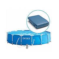 Чаша для каркасного бассейна Intex 28210, 28212, размер 366 х 76 см  (10616)