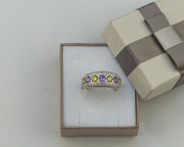 Серебряное кольцо ободок