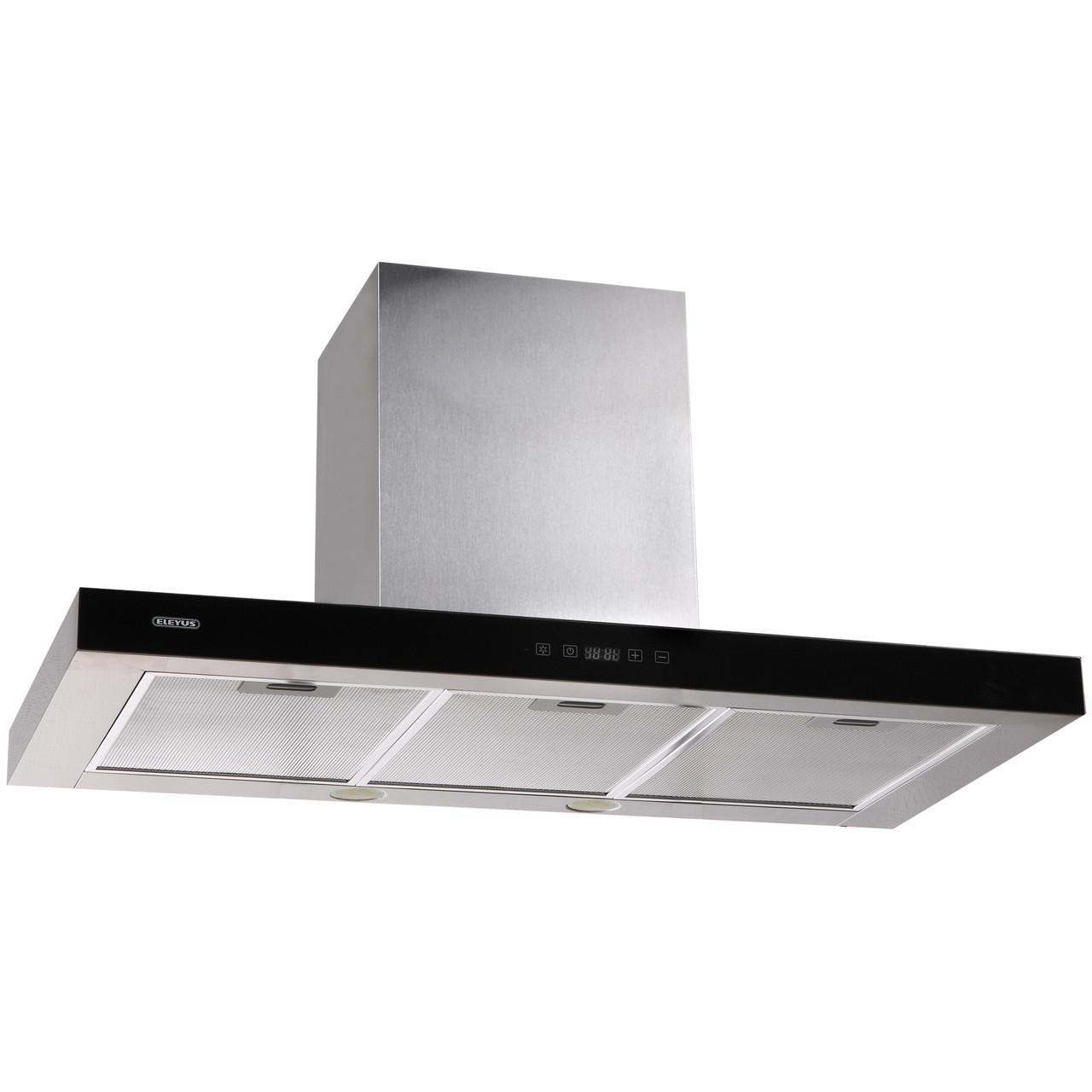 Витяжка кухонна ELEYUS Stels 1200 LED SMD 90 IS+BL