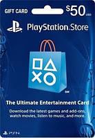 Карта пополнения счета PlayStation Network PSN 50 USD
