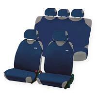 Комплект накидок на автомобильные сидения Hadar Rosen PERFECT Синий 22057