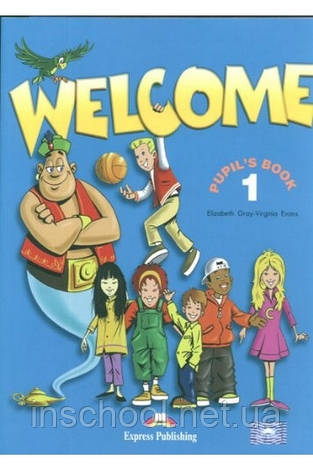 WELCOME 1 S'S WITH ALPHABET BOOK ISBN: 9781844662005, фото 2
