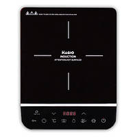 Электроплитка индукц. Magio MG-447 2000Вт, полиров.черн.стекло, 5реж., LED диспл.