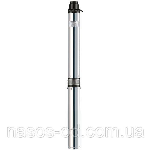Скважинный центробежный насос Насосы+Оборудование KGB 100QJD8-35/8-1.1D 1.9кВт Hmax50м Qmax217л/мин Ø105мм