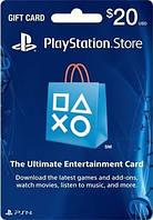 Карта пополнения счета PlayStation Network PSN 20 USD
