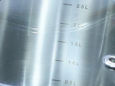 Мерная шкала набора посуды Vinzer Chef (7 пр.) 89028