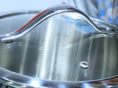 Стеклянная крышка набора посуды Vinzer Chef (7 пр.) 89028
