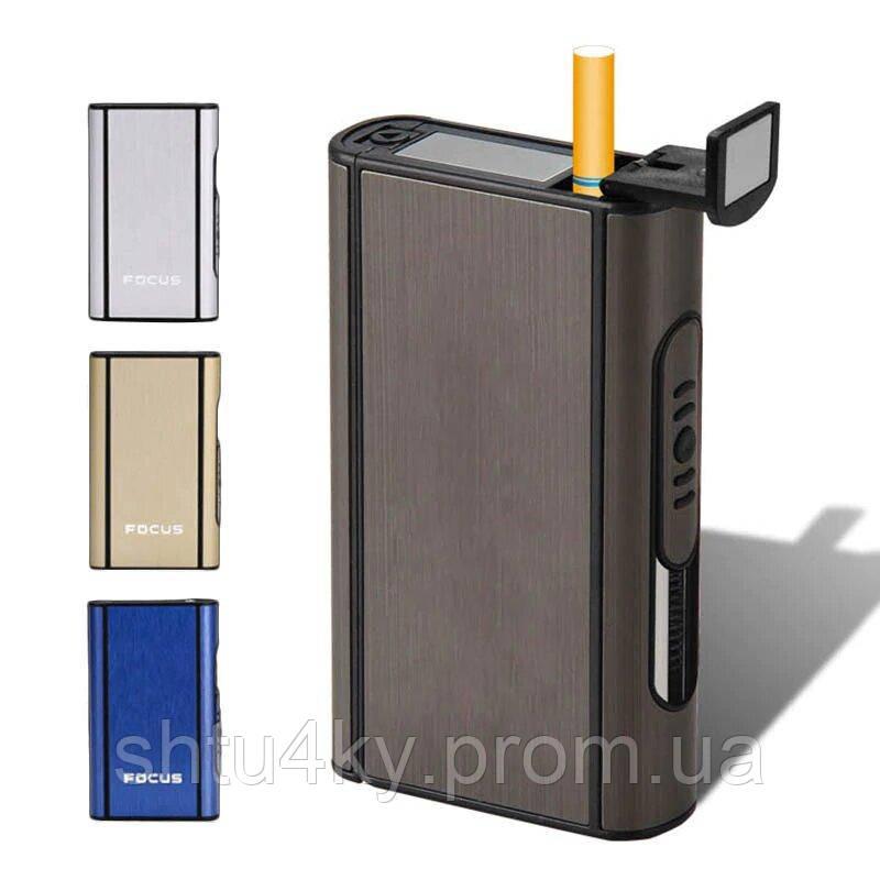 Купить портсигар с автоматической подачей сигарет и зажигалкой электронную сигарету купить в липецке