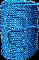 Шнур плетеный полипропиленовый с сердечником 8мм 100м