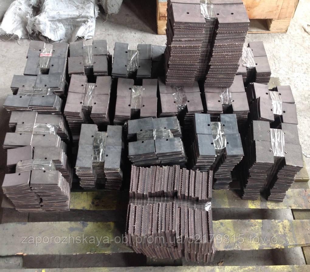 Скребок резиновый ЗМ-60 (голый) L-250 ЗМ 02.200