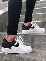 """Кроссовки Nike Air Force 1 Low """"Белые\Черные"""", фото 2"""