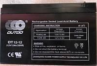 Аккумулятор 12V12A электро-велосипед 151x98x95 OUTDO