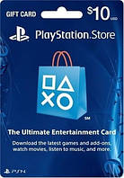 Карта пополнения счета PlayStation Network PSN 10 USD