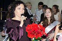 """Оксана Полонец на """"Студ-мисс Киев 2012"""". Награждение призеров."""