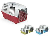 Переноска для кішок і собак PRATIKO 1 METAL,48 х 31,5 х 33 см MPS