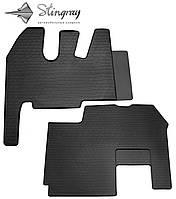 RENAULT Magnum 2001-2013 Комплект из 2-х ковриков Черный в салон