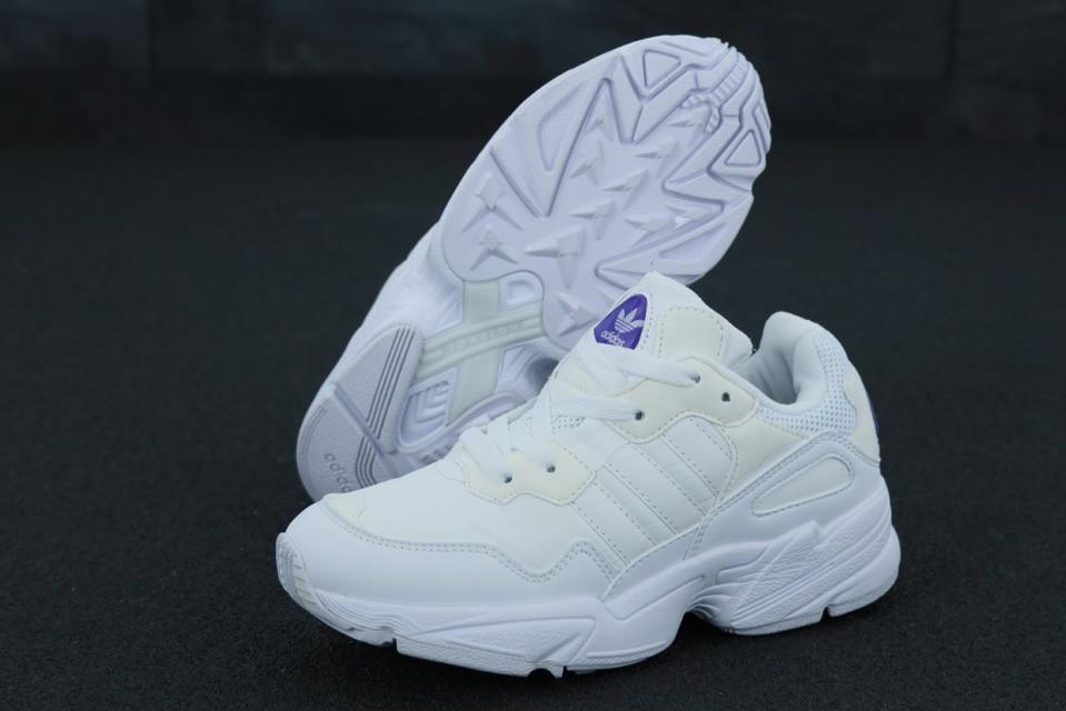 Женские кроссовки Adidas Yung 96 white