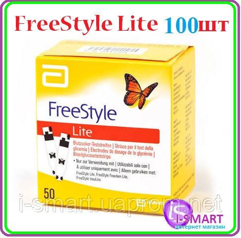Тест полоски FreeStyle Lite 100 шт