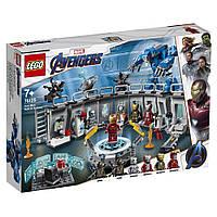 Конструктор LEGO Super Heroes Лаборатория Железного Человека 524 деталей (76125)