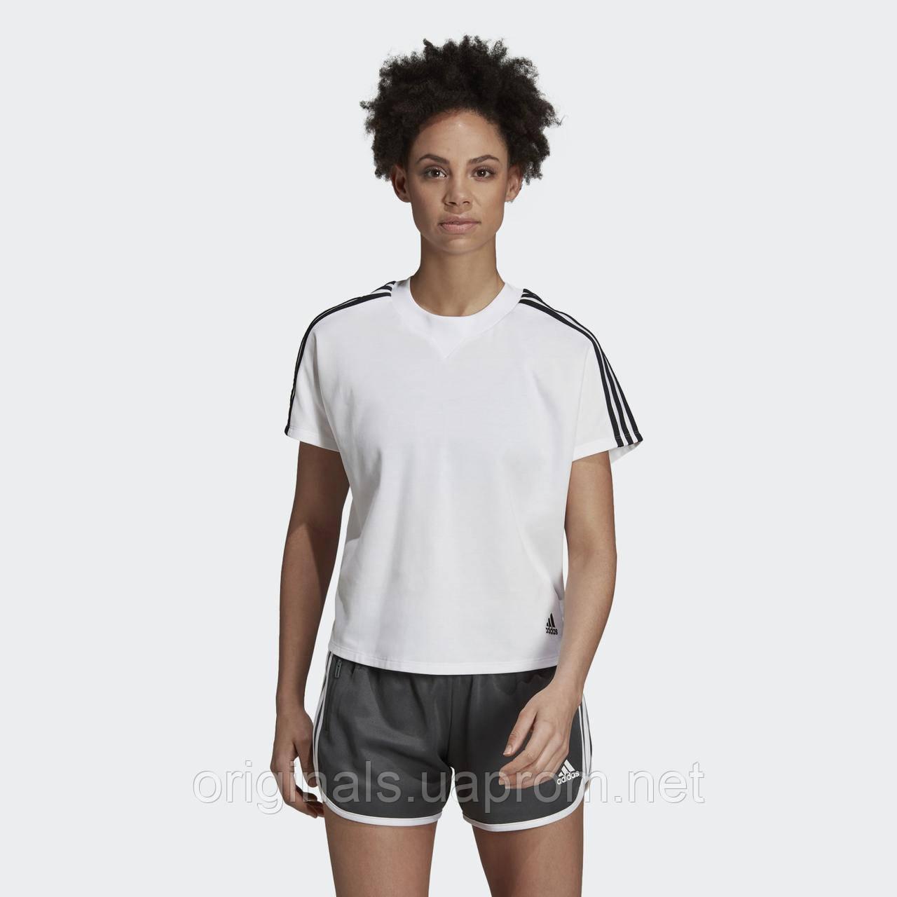 Женская футболка Adidas Atteetude Tee DY8508